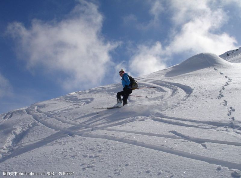体育 滑雪图片
