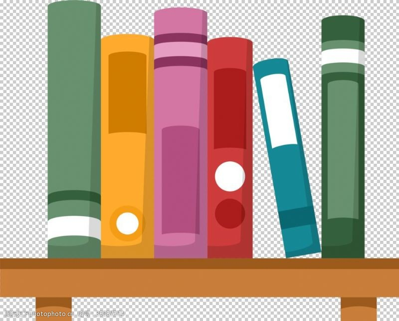 教育插图 书本元素图片