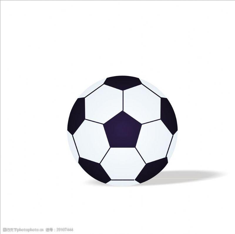 体育 足球矢量图元素图片