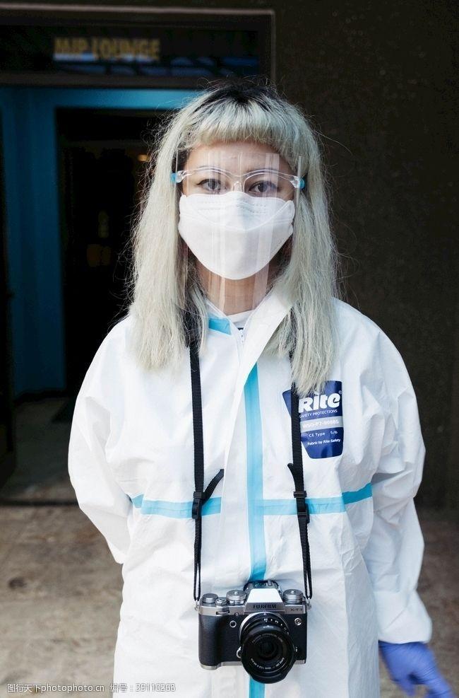 女性 防疫医生图片