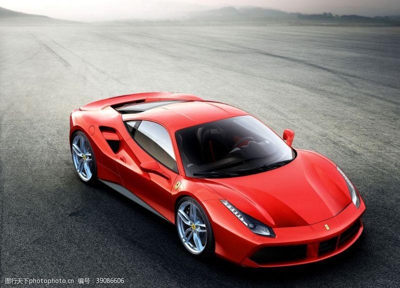 红色跑车图片