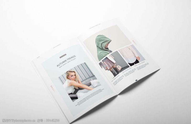 包装设计 宣传画册样机图片