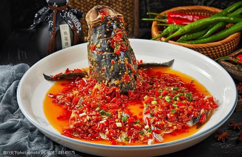 头菜 剁椒鱼头图片
