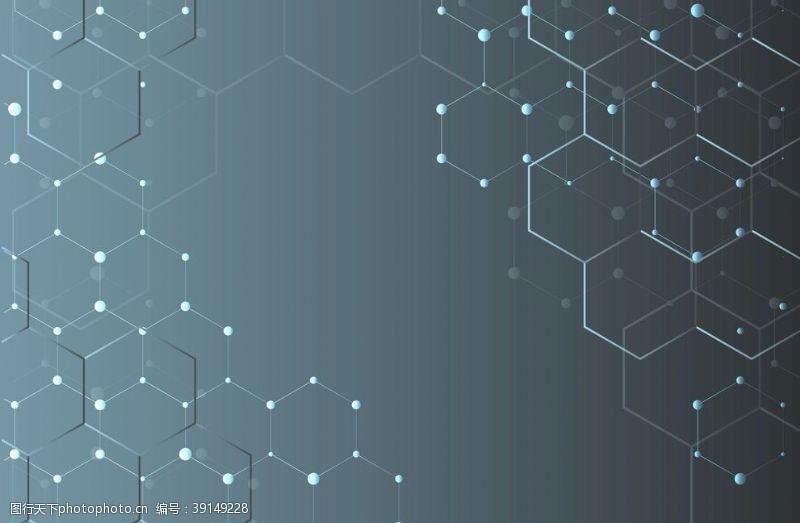 现代科技 科技背景图片