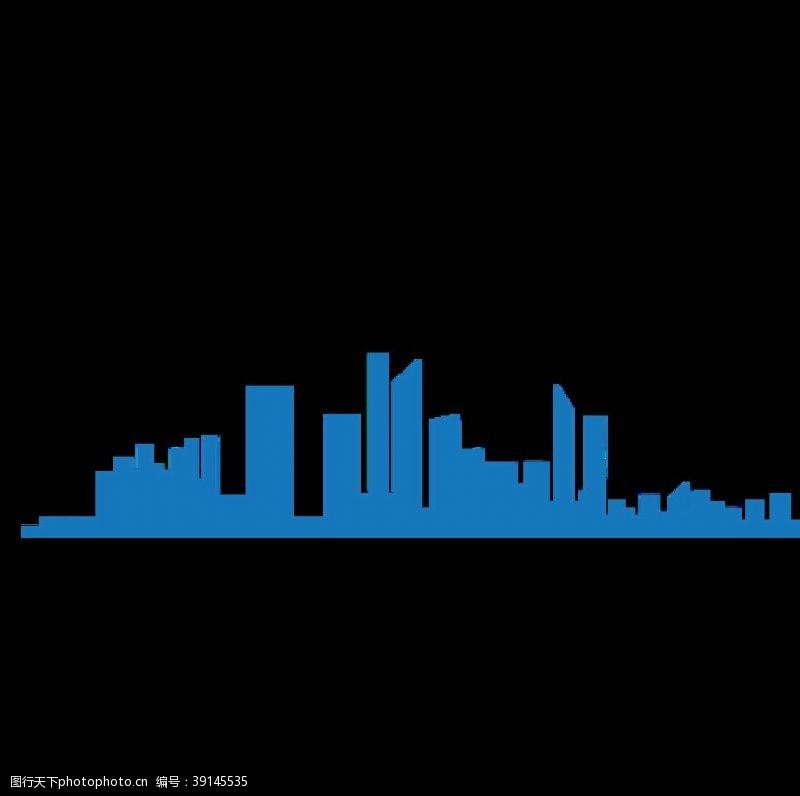 矢量设计 城市剪影图片
