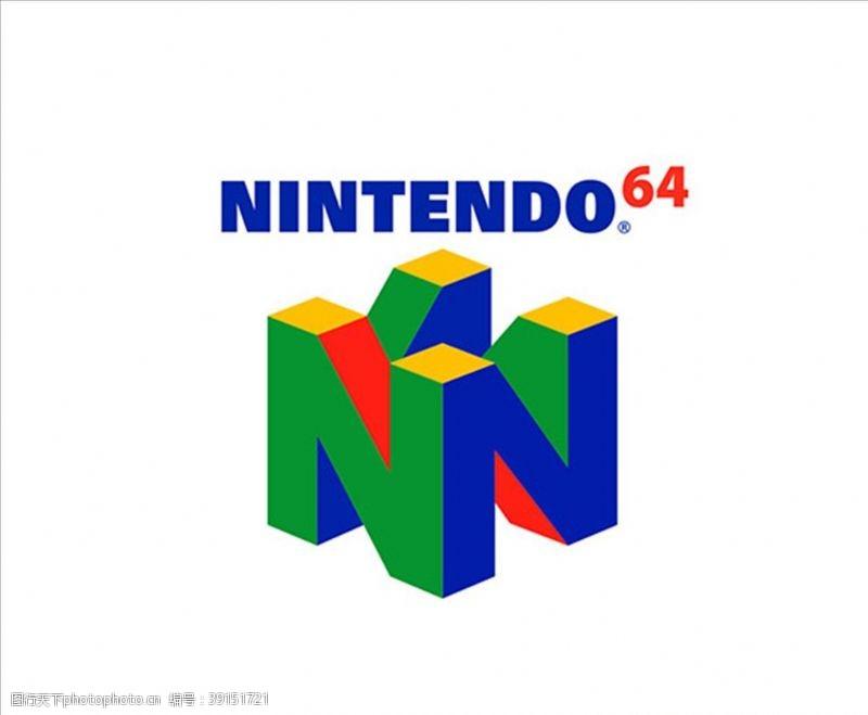 矢量设计 任天堂Nintendo64图片